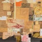 "Italian Garden - 15"" x 18"" - Collage"